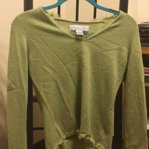 Cashmere Fringe sweater!!